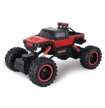 Rock Crawler 4WD Hummer távirányítós sziklamászó autó 1/14 piros