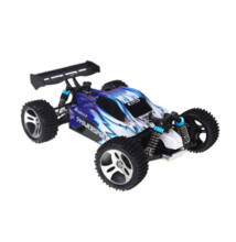 Gyors távirányítós versenyautó 40Km/h WLToys A959 kék