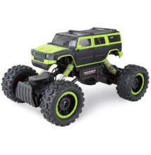 Rock Crawler 4WD Hummer távirányítós sziklamászó autó 1/14 zöld