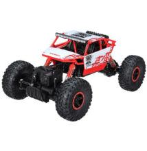 Sziklamászó gyerek távirányítós autó 4WD Rock Crawler 28cm piros