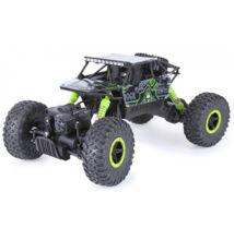 Rock Crawler 4WD távirányítós sziklamászó autó 1/18 zöld