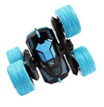 Atom Max átfordulós távirányítós kaszkadőrautó - 25cm-es kék