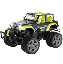Carrera RC: Jeep Wrangler Rubicon zöld távirányítós autó 1/16