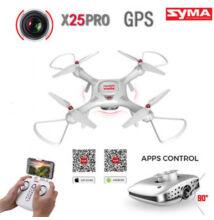 SYMA X25Pro drón GPS Waypoint Follow me automatikus fel/leszállással