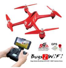 MJX Bugs2W brushless GPS drón 18p repülési idő 1000m hatótáv 1080p 5G FPV kamera