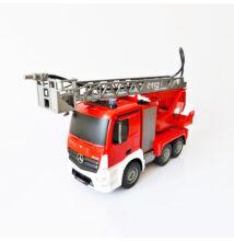 Óriás vízspriccelős távirányítós tűzoltóautó Mercedes Benz 47cm E527-003
