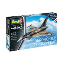 Revell 1:72 Eurofighter Typhoon RAF 100 Years of British Legends