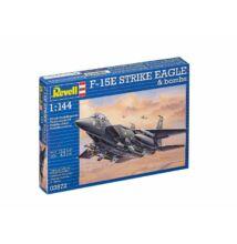 Revell 1:144 F-15E Strike Eagle & bombs repülő makett