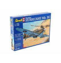 Revell 1:72 Hawker Hurricane Mk. IIC repülő makett