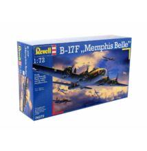 "Revell 1:72 B-17F ""Memphis Belle"" repülő makett"