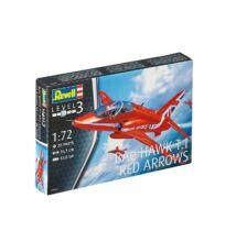 Revell 1:72 BAe Hakw T.1 Red Arrows repülő makett
