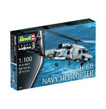 Revell 1:100 SH-60 Navy Helicopter helikopter makett