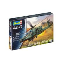 Revell 1:100 AH-64A Apache helikopter makett