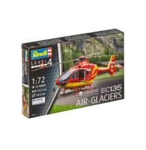Revell 1:72 Airbus Helicopters EC135 Air-Glaciers helikopter makett