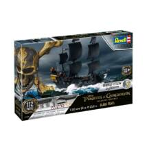 Revell 1:150 Black Pearl Pirates of the Caribbean Easy-Click