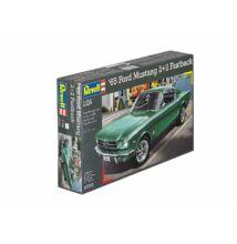 Revell 1:24 '65 Ford Mustang 2+2 Fastback autó makett