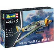 Revell 1:72 Focke Wulf Fw 190 F-8 repülő makett