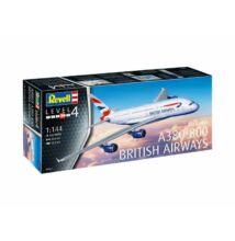 Revell 1:144 Airbus A380-800 British Airways repülő makett