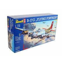 "Revell 1:72 B-17G ""Flying Fortress"" repülő makett"