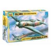 Zvezda 1:48 Soviet Fighter Lavochkin LA-5FN repülő makett