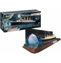 Revell 1:600 RMS Titanic + 3D Puzzle (Jéghegy) Easy-Click SET
