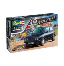 Revell 1:24 35 Years of Volkswagen Golf GTI Pirelli SET