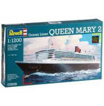 Revell 1:1200 Ocean Liner Queen Mary 2 hajó makett