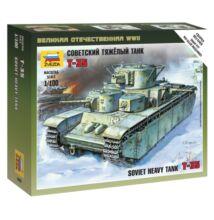 Zvezda 1:100 Soviet Heavy Tank T-35 tank makett