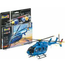 """Revell 1:72 Eurocopter EC 145 """"Builders' Choice"""" SET helikopter makett"""
