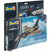 Revell 1:72 Eurofighter Typhoon RAF 100 Years of British Legends SET