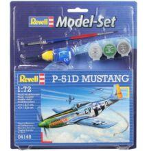 Revell 1:72 P-51D Mustang SET repülő makett
