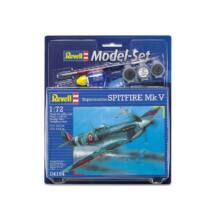 Revell 1:72 Supermarine Spitfire Mk V SET repülő makett