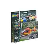 Revell 1:72 Airbus Helicopters EC135 Air-Glaciers SET