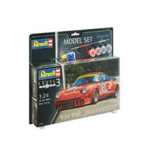 """Revell 1:24 Porsche 934 RSR """"Jägermeister"""" SET"""