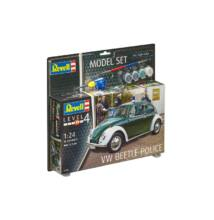 Revell 1:24 VW Beetle Police SET