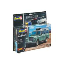 Revell 1:24 Land Rover Series III LWB station wagon SET autó makett