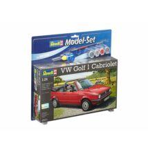 Revell 1:24 VW Golf 1 Cabriolet SET