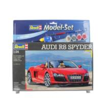 Revell 1:24 Audi R8 Spyder SET