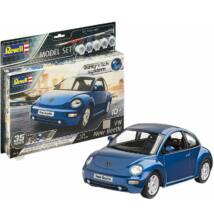 Revell 1:24 VW New Beetle Easy-Click SET