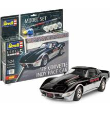 Revell 1:24 '78 Corvette Indy Pace Car SET