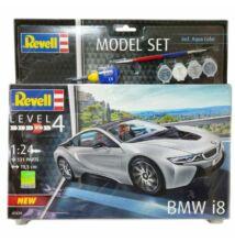 Revell 1:24 BMW i8 SET autó makett