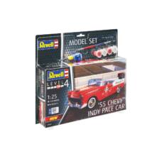 Revell 1:25 '55 Chevy Indy Pace Car SET