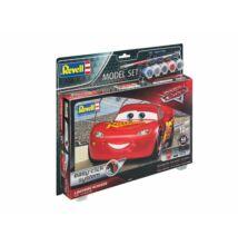Revell 1:24 Lightning McQueen Easy-Click SET verdák makett
