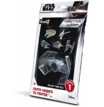 Revell 1:121 Darth Vader's Tie Fighter Easy-Click Star Wars makett