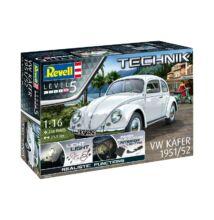 Revell 1:16 VW Beetle Käfer 1951/52 TECHNIK