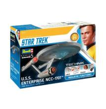 Revell 1:600 Star Trek U.S.S. Enterprise NCC - 1701 (The Original Series) TECHNIK