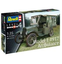 Revell 1:35 Ford Model T 1917 Ambulance autó makett