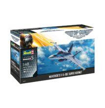 Revell 1:48 Maverick's F/A-18E Super Hornet Top Gun: Maverick repülő makett