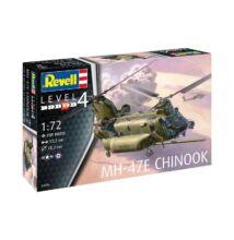 Revell 1:72 MH-47E Chinook helikopter makett