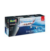 Revell 1:144 Emirates Airbus A380-800 United for Wildlife repülő makett